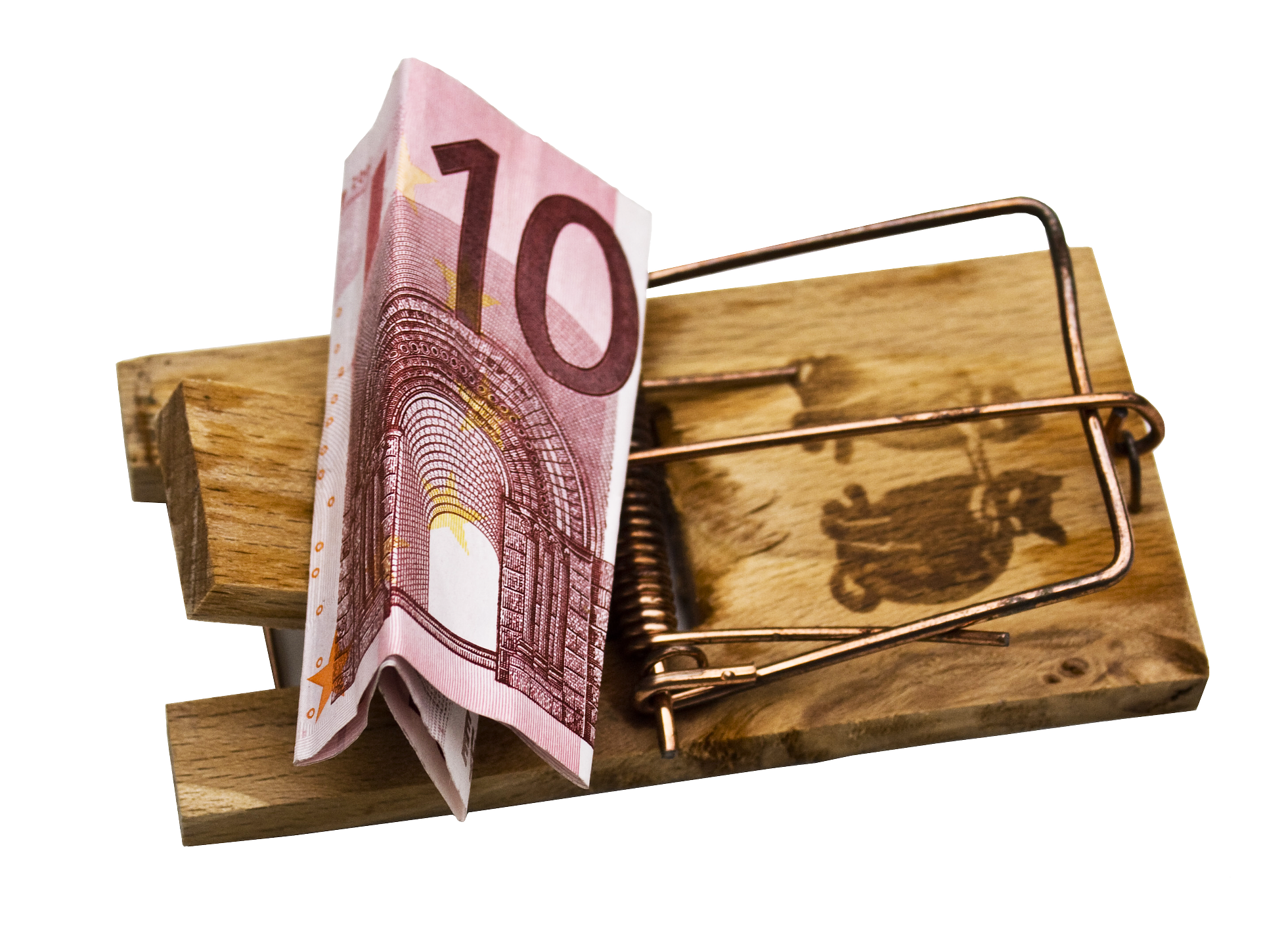 Geldfalle, Abzocke, Abofalle, Betrug, Euro, Falle