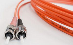 Glasfaserkabel für schnelles DSL
