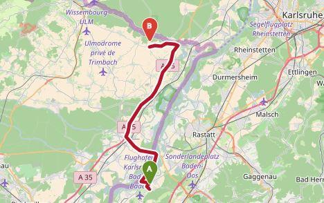 1&1 Server-Umzug von Baden-Airpark nach Niederlauterbach in Frankreich